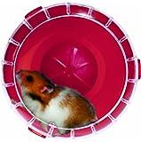 Roue silencieuse RodyLounge Mini Cerise SILENT WHEEL MINI diamètre 11 cm environ pour hamsters nains et souris/ZOLUX