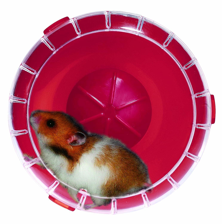 zolux marque+generique Ruota silenziosa rodylounge Mini Ciliegia Silent Wheel Mini Diametro 11/cm Circa per criceti Nani e Mouse