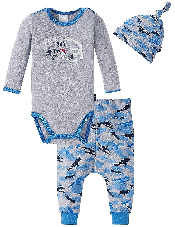 Schiesser Unterwäsche-Set Baby Jungs, 3er Pack 159265