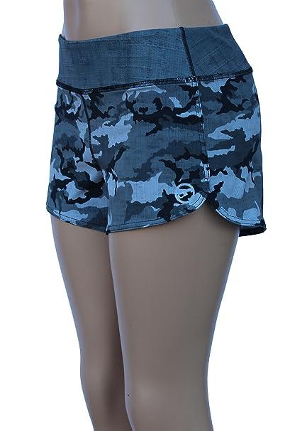 UN92 WC14 Women's Tactical Camo Fit Shorts, Urban-8