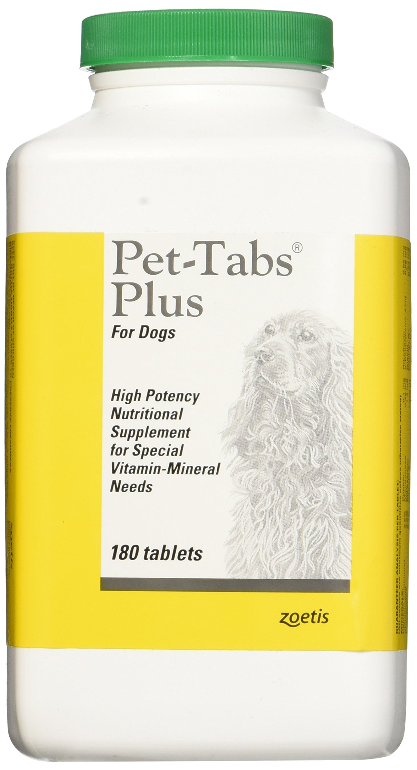 Zoetis Pet Tabs Plus 180CT