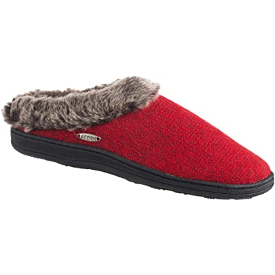 Acorn Womens Chinchilla Clog Ragg | Slippers