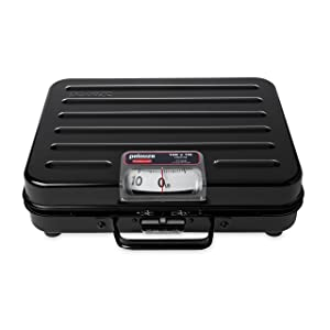 Rubbermaid Commercial Briefcase Mechanical Utility Receiving Scale, 100-Pound (FGP100S)