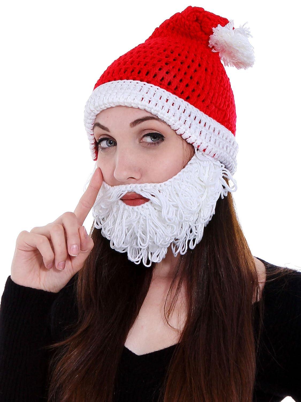Amazon Simplicity Mens Womens Beard Hat Beanie Winter Warm