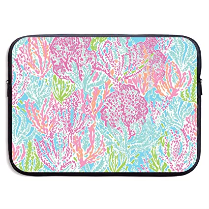 100% authentic 86910 8ad5a Amazon.com: Xxh 15Inch Laptop Sleeve Case Lilly Pulitzer Neoprene ...