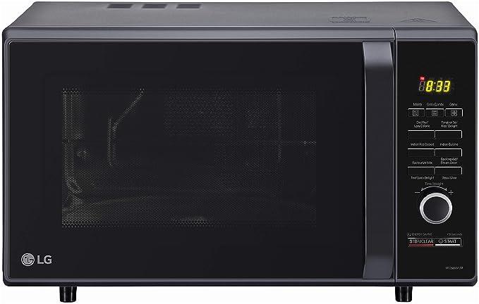 LG 28 L Convection Microwave Oven (MC2886BFUM, Black, 360° Motorised Rotisserie)