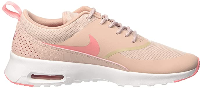 half off 9ffd3 30179 Nike Women s Air Max Thea Pink Oxford Bright Melon White Running Shoe 8.5  Women US  Amazon.in  Shoes   Handbags