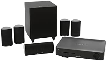 harman kardon home theatre. harman kardon bds 635 home theater surround sound speaker system - black theatre