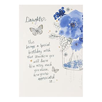 Hallmark Daughter Birthday Card Youre Appreciated