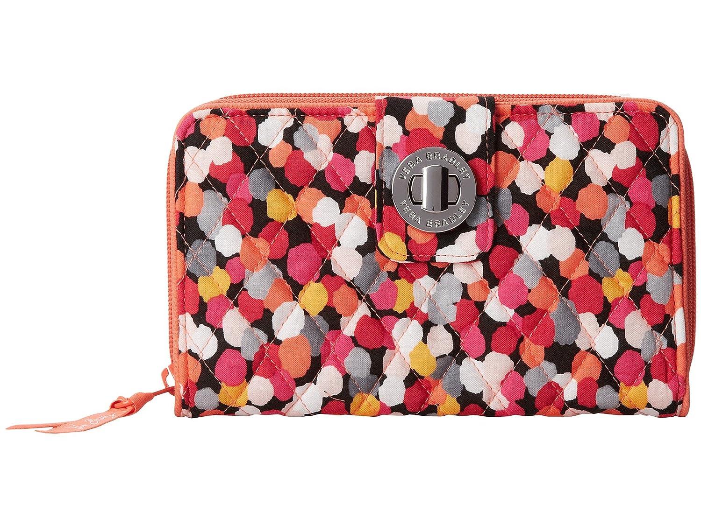 Vera BradleyレディースTurn Lock Wallet B00SOFH5ZQ Pixie Confetti Pixie Confetti