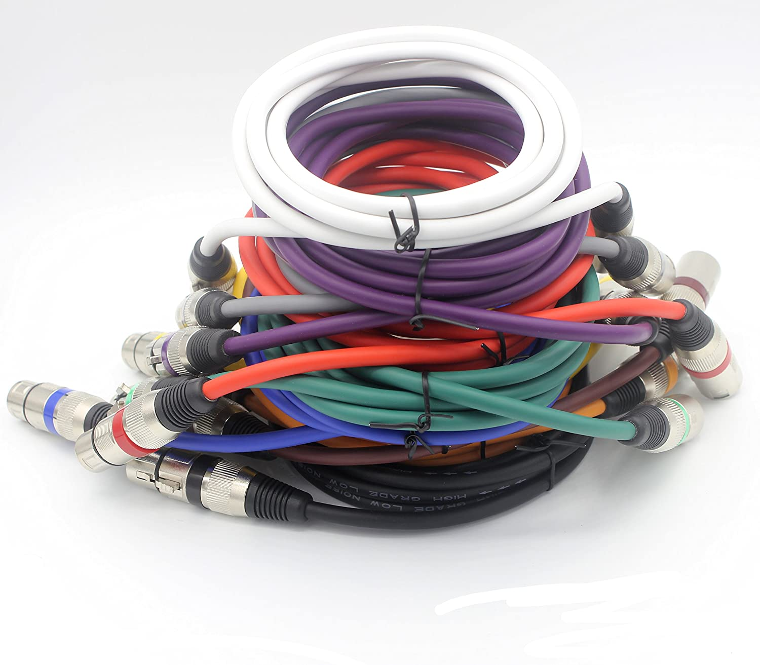Loonggate Balanced Mic Cable Patch Cords High End Quality And Xlr Wiring Color Sound Clarity Extreme Low Noise