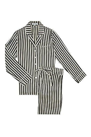 42adb746a8 Olivia Von Halle Women Lila Nika Pyjama Striped at Amazon Women s ...