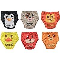 OZYOL Äventyr 6-pack vattentät baby lärande blöja träningsbyxor underkläder blöjor byxor för toalettträning pottträning