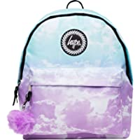 Hype Backpack Bag - Pastel Clouds Pom Pom Rucksack - Bags & Backpacks For Boys and Girls Women and Men - Pastel Clouds Pom Pom