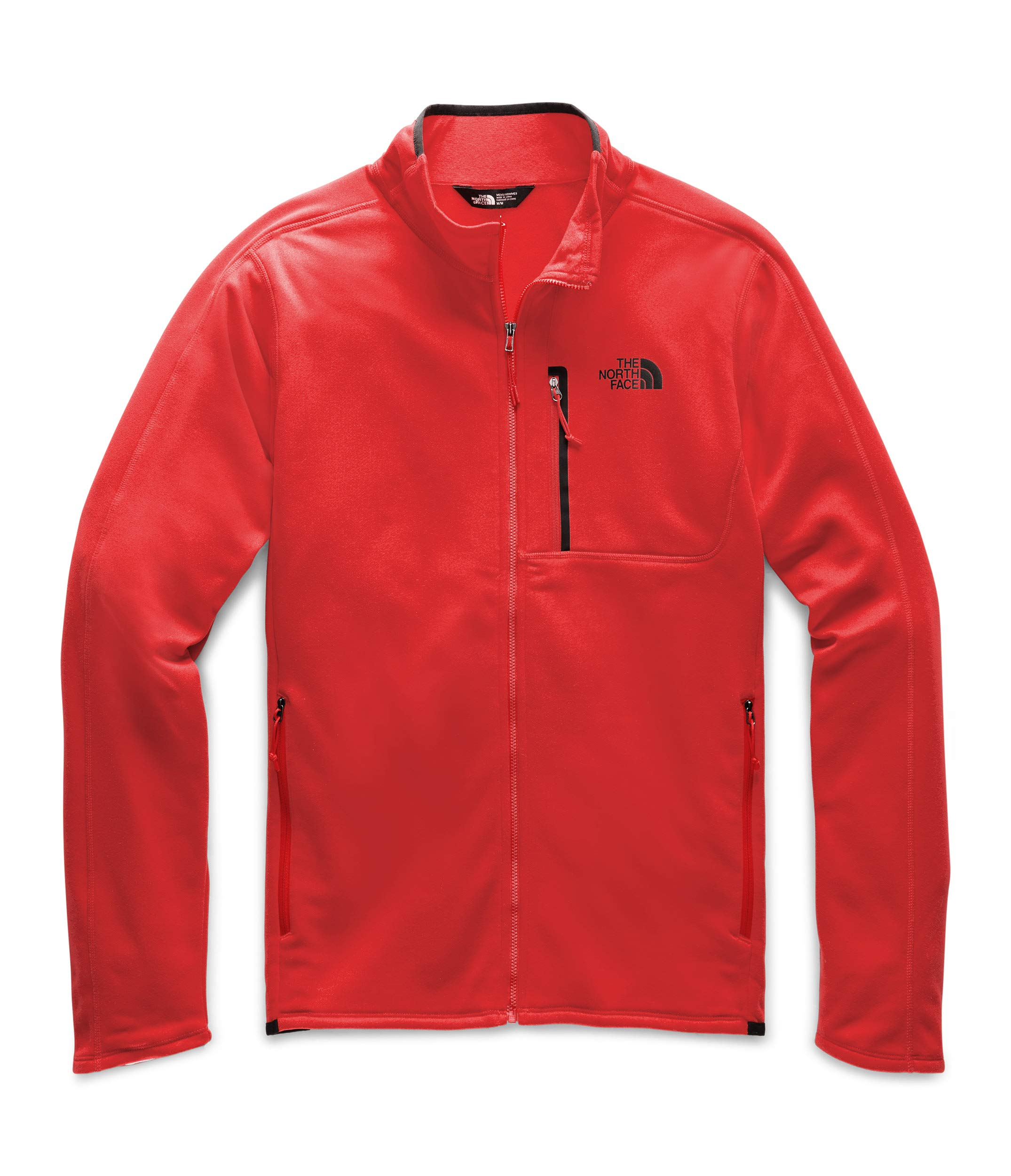 The North Face Men's Canyonlands Full Zip Fiery Red by The North Face