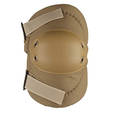 ALTA 53010.14 AltaFLEX Elbow Protector Pad, Coyote Cordura Nylon Fabric, AltaGrip Fastening, Flexible Cap, Round, Coyote: Industrial & Scientific
