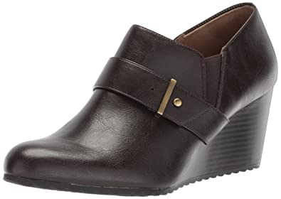 LifeStride Puebla Women's ... Wedge Ankle Boots 95F3weR