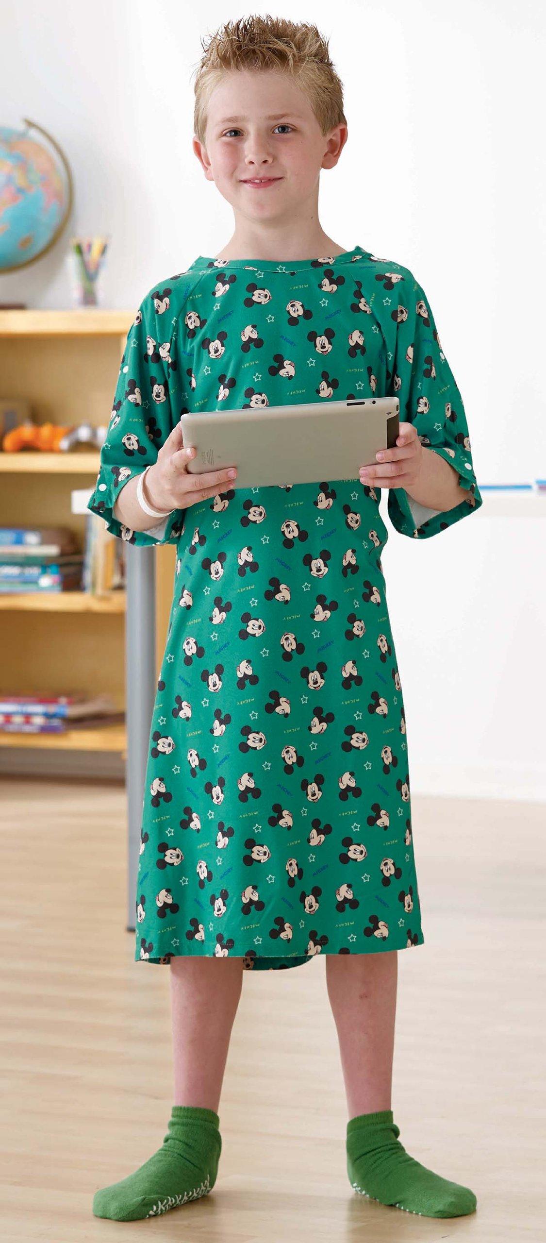 Amazon Com Disney Pediatric Iv Hospital Gowns Kid Pink