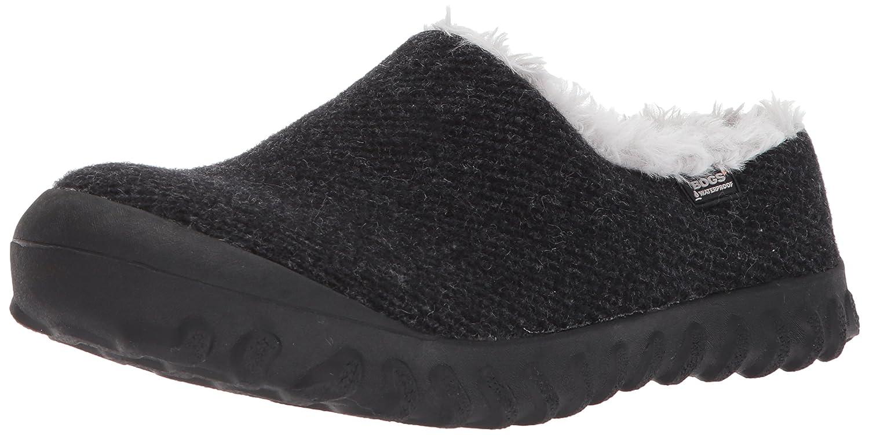 Bogs Women's Bmoc Slip on Wool Snow Boot B01N7T9E73 8 B(M) US Black