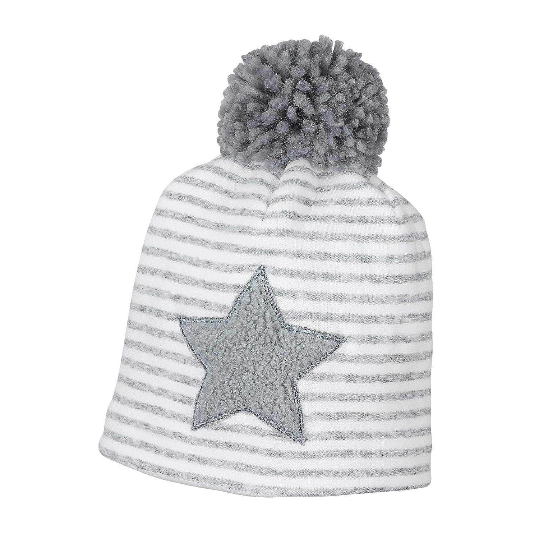 Sterntaler Mütze mit Bommel und Baumwollfutter 4611801