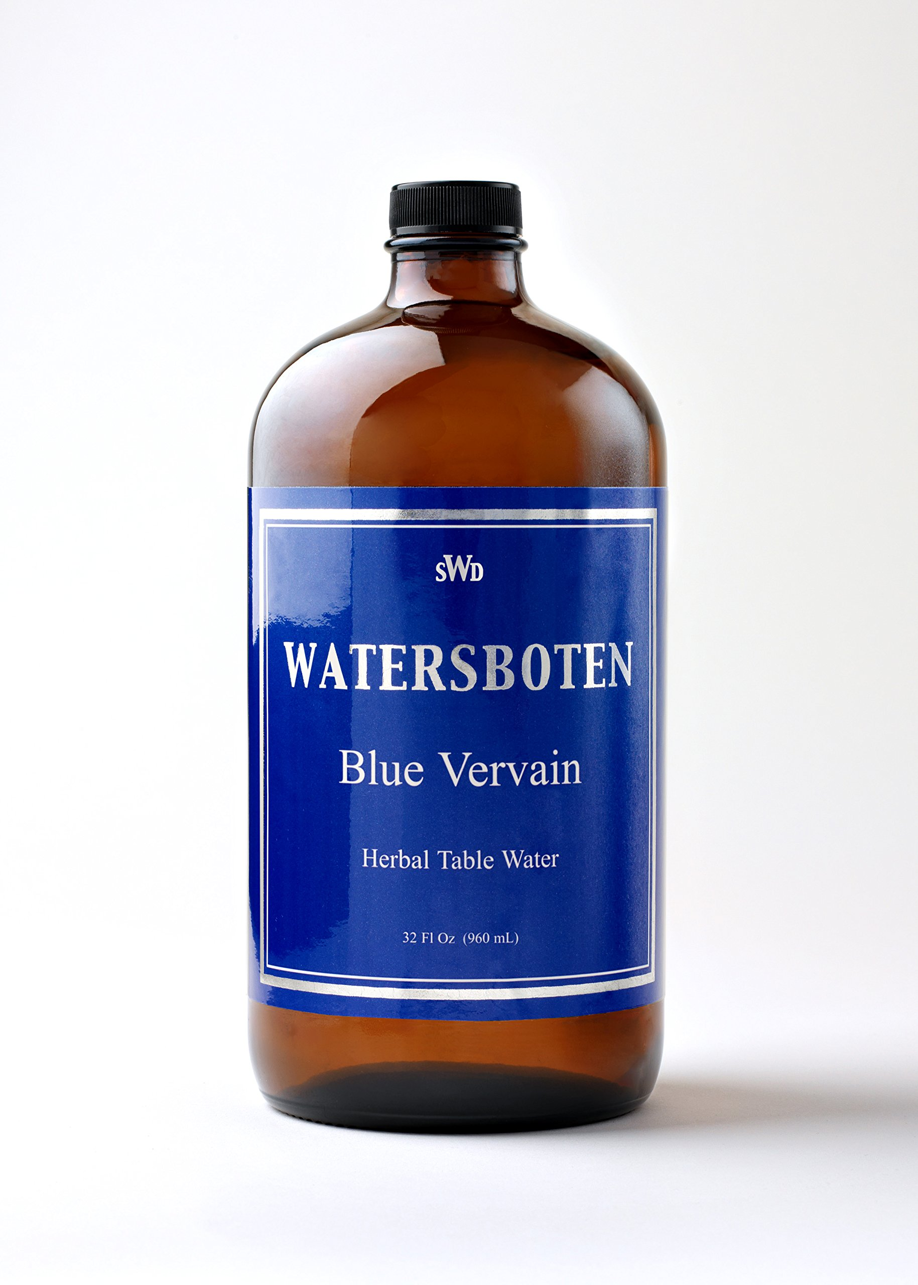 Relaxing Blue Vervain Alternative to Alcohol Fine Dining Classic Luxury The Culinary Art of Fine Herbal Mineral Waters 32 Fl Oz