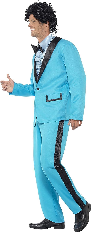 Smiffys - Disfraz Rey del baile años 80Ž, color azul (43194L): Amazon.es: Juguetes y juegos