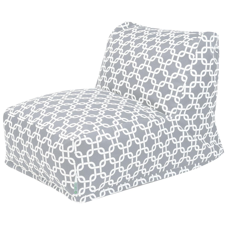 Amazon Majestic Home Goods Links Bean Bag Chair Lounger Gray Garden Outdoor