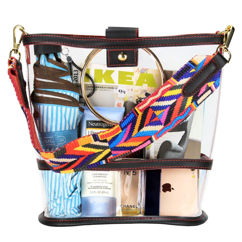 Amazon.com: sharplus Claro cubeta Crossbody bolsa Purse Bag ...