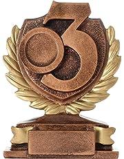 pokalspezialist KDS Pokal PRAG Platz 1 2 3 Zahl Ziffer Sieger Trophäe Keramik 250g