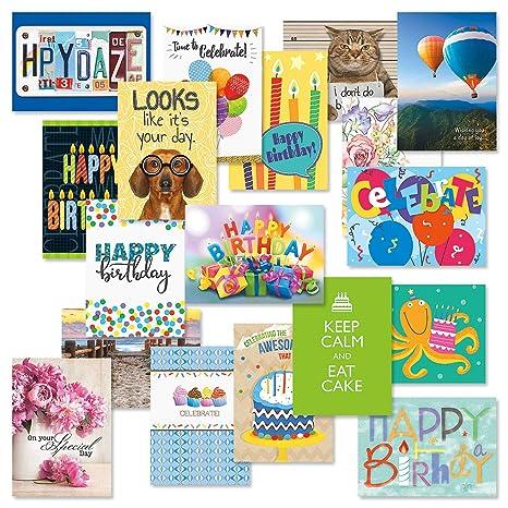 Amazon.com: Mega - Tarjetas de felicitación de cumpleaños ...