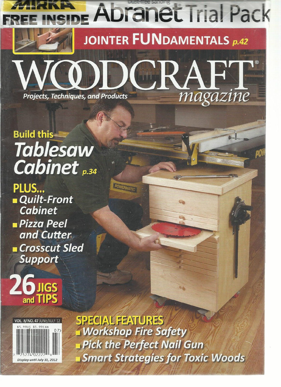 WOOD CRAFT, JUNE/JULY, 2012 (PROJECTS * TECHNIQUES & PRODUCTS)