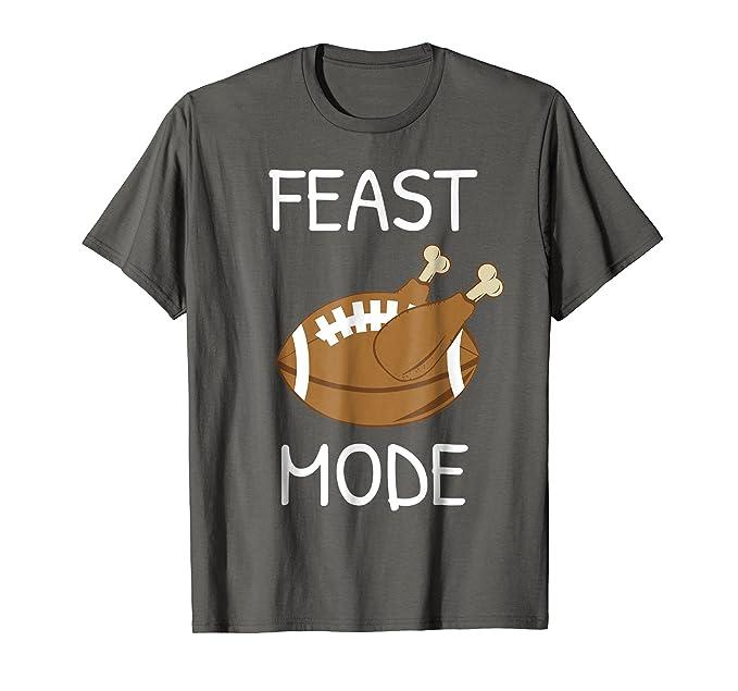 14fe39fc Mens Funny Thanksgiving T Shirt Quote Football Men Women Youth 2XL Asphalt