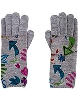 Desigual Damen Handschuhe GUANTES_ FLOWERS