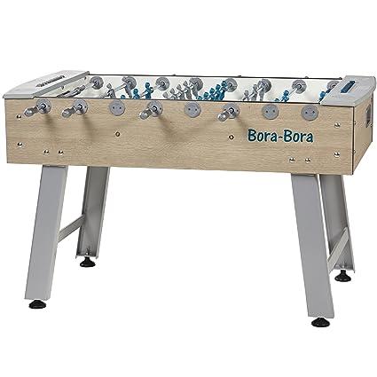 Amazoncom René Pierre Outdoor Foosball Table Bora Bora - Single goalie foosball table