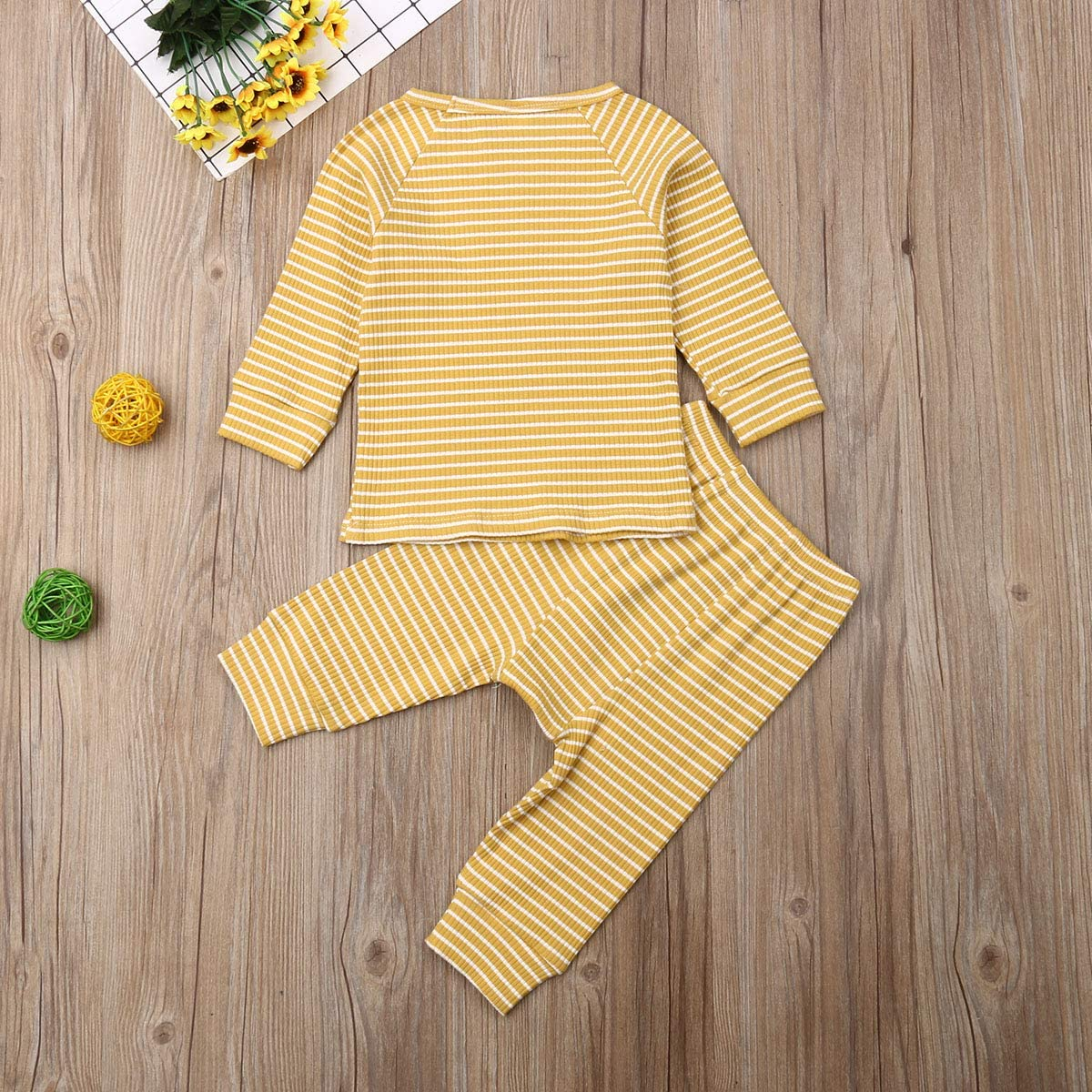 Newborn Baby Clothes Set Baby Boy Girl Romper Floral Pants Set Long Sleeve Jumpsuit Infant Halloween Outfit