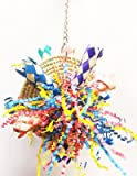 1525 Discpuff Bonka Bird Toy parrot cage toys cages shredder cockatiel conure