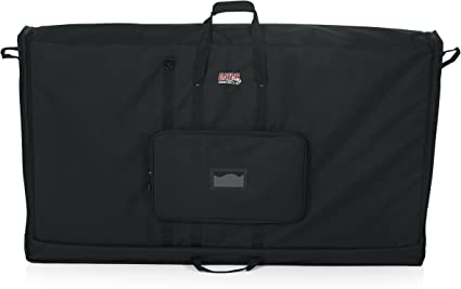 "TV PC Carry Case Deluxe Padded Storage Bag For Up To 22/"" Flatscreen Monitor"
