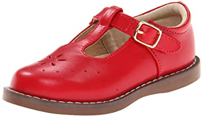 FootMates Girl's Sherry 2 (Toddler/Little Kid) Apple Red Flat 10 Toddler M
