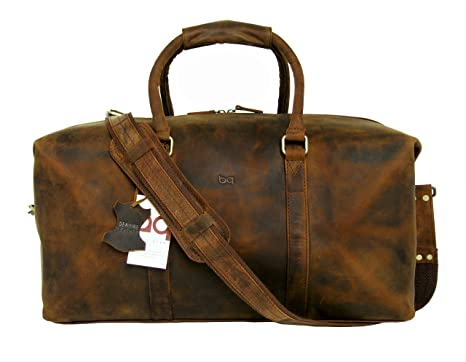 Image Unavailable. Image not available for. Color  Basic Gear Full Grain  Leather Duffle Bag 24448af6b03b6