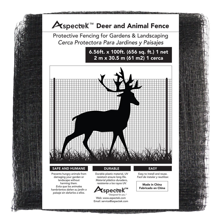 Aspectek Bird Net for Gardens and Crops, 6.56 X 20 Feet, Deer & Animal Fence Netting HR4901