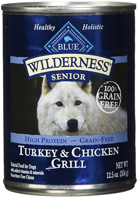Blue Buffalo Wilderness High Protein Grain Free Natural Senior Wet