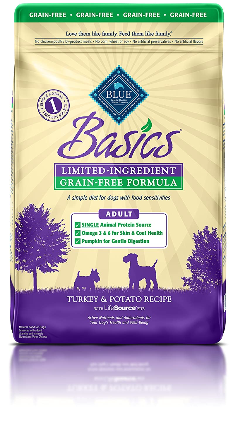 BLUE Basics Limited-Ingredient Formula Adult Dry Dog Food