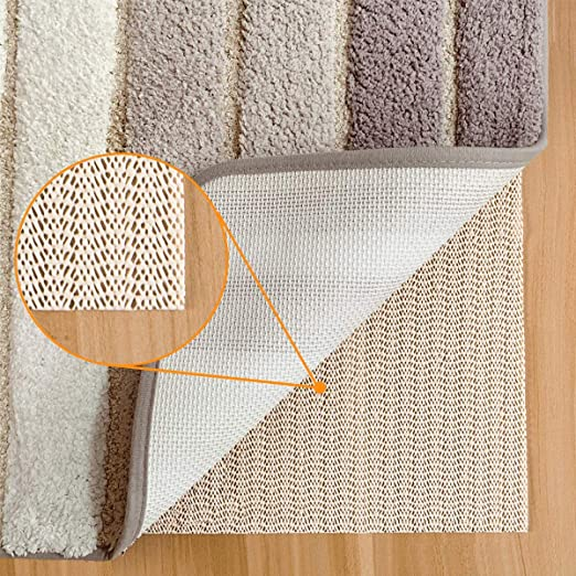 Washable Padding Grips Abahub Anti Slip Rug Pad 2 x 8 for Under Area Rugs Carpets Runners Doormats on Wood Hardwood Floors Non Slip