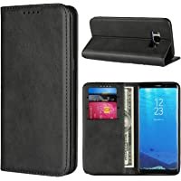 SunYoo for Samsung Galaxy S8 Plus Wallet Case, with Cards Slots & Magnetic & Flip Folio with Cowhide Pattern Leather…