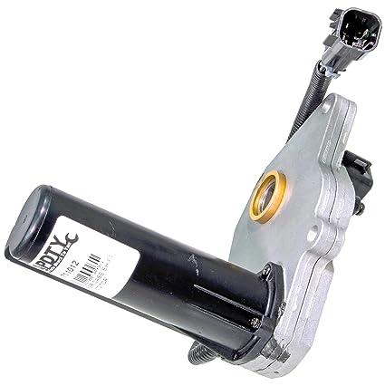 amazon com: apdty 711012 transfer case four wheel drive actuator aka 4wd  4x4 transfer case encoder shift motor (replaces gm 12474401, isuzu  8124744010):