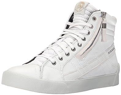 Diesel Men's D-Velows D-String Plus Fashion Sneaker, White, ...