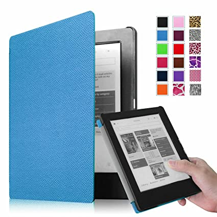 Kobo Aura HD para - Fintie Ultra slim Smart shell hoursstore light ...