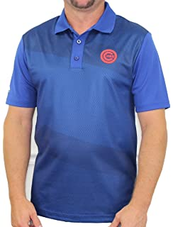 5f30576f Majestic Chicago Cubs MLB Late Night Prize Men's Performance Polo Shirt