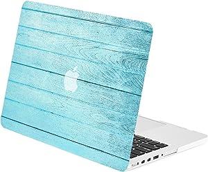 TOP CASE - Blue Series Graphic Rubberized Hard Case Compatible MacBook Pro 15
