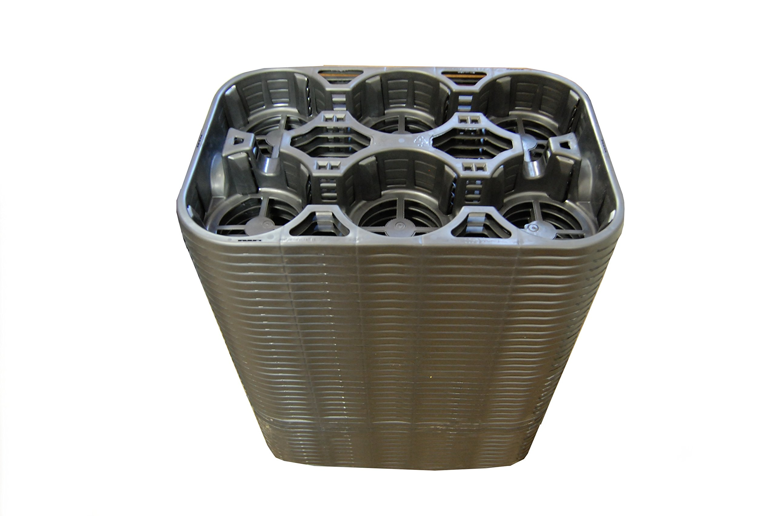 Greenhouse Carry Tray - 6 Pocket Carrier - Holds Trade Gallons & Shuttle Pots - 50 Trays by Growers Solution